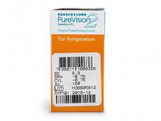 PureVision 2 for Astigmatism (6lēcas)
