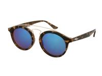Alensa.lv - Kontaktlēcas - Bērnu saulesbrilles Alensa Panto Havana Zils Spogulis