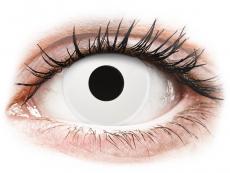 ColourVUE Crazy Lens - WhiteOut - ar dioptriju (2 lēcas)
