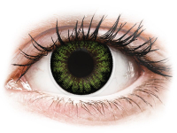 Alensa.lv - Kontaktlēcas - ColourVUE BigEyes Party Green - bez dioptrijas
