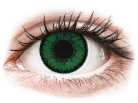 Alensa.lv - Kontaktlēcas - SofLens Natural Colors Emerald - ar dioptriju
