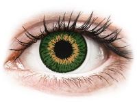 Alensa.lv - Kontaktlēcas - Expressions Colors Green - ar dioptriju