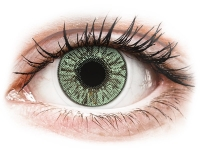 Alensa.lv - Kontaktlēcas - FreshLook Colors Green - ar dioptriju