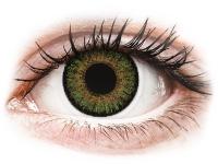 Alensa.lv - Kontaktlēcas - FreshLook One Day Color Green - bez dioptrijas