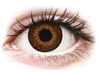Alensa.lv - Kontaktlēcas - Expressions Colors Brown - ar dioptriju