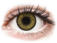 Alensa.lv - Kontaktlēcas - SofLens Natural Colors Dark Hazel - ar dioptriju