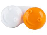Alensa.lv - Kontaktlēcas - Lēcu konteinerītis 3D - oranžs