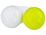 Alensa.lv - Kontaktlēcas - Lēcu konteinerītis 3D - dzeltens