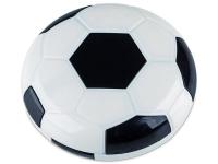 Lēcu futlāris ar spoguli Football- melns