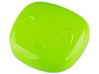 Alensa.lv - Kontaktlēcas - Lēcu futlāris ar spoguli Face- zaļš