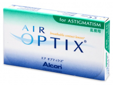 Air Optix for Astigmatism (3 lēcas)