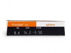 Proclear Sphere (6lēcas)