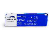 SofLens 59 (6lēcas)