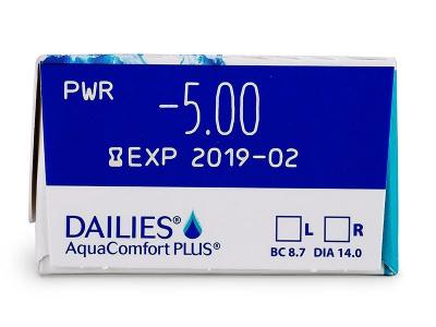 Dailies AquaComfort Plus (30lēcas)