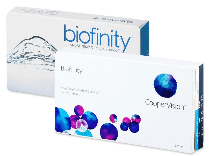 Biofinity (6lēcas)