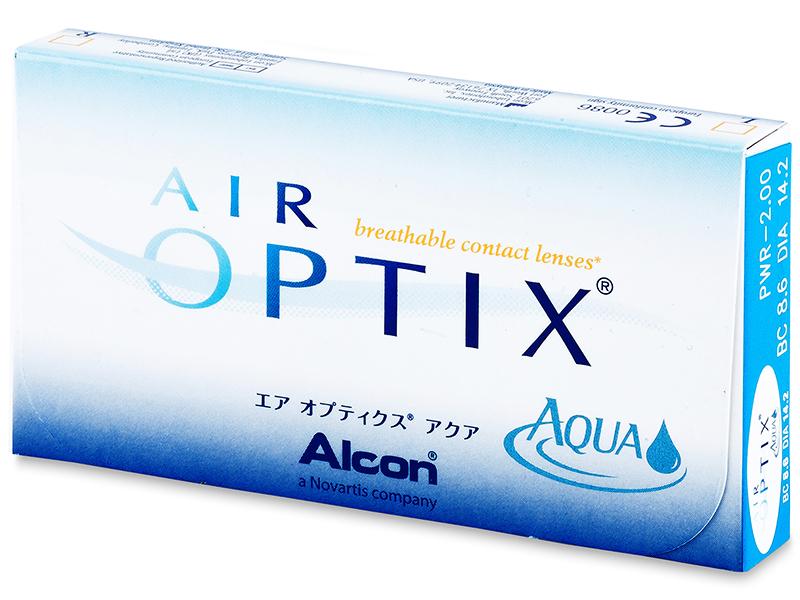 Air Optix Aqua (6lēcas)