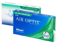 Alensa.lv - Kontaktlēcas - Air Optix for Astigmatism